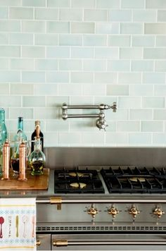 gorgeous tile backsplash