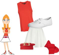 """Candace Flynn"" by watersky on Polyvore"