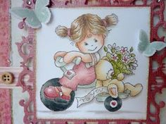 Jane's Lovely Cards : Bildmalarna