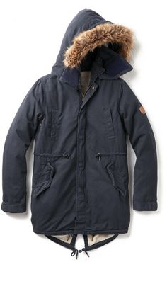 3a5565f9327b Native Youth Sherpa Lined Parka. Faded slouchy fishtail. Doesn t look very  thick