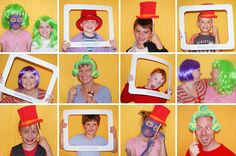 Wonka photo booth.