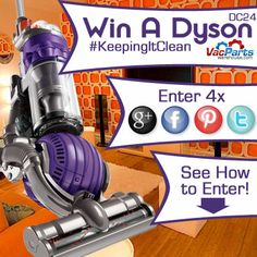 Get your entry in before it's too late to win an amazing Dyson!  Win a Dyson #keepingitclean