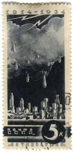 storm drops russian stamp