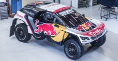 New Peugeot 3008 DKR Gets Dressed Up In Dakar Combat Gear #Dakar #Motorsport