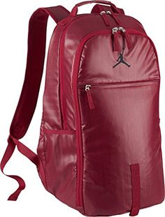 fdeb4977e2b3 Nike mens JORDAN JUMPMAN BACKPACK 806374687 GYM REDGYM REDBLACK     Click  image for more details.Note It is affiliate link to Amazon.