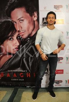 Spotted! Tiger Shroff Promotes Baaghi at an Event