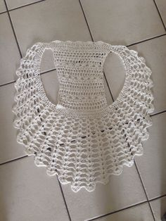 Crochet vest #Crochet #Vest #Wearable