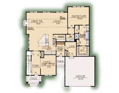 Aspen Home Plan - Earnhardt Collection™ Schumacher Homes