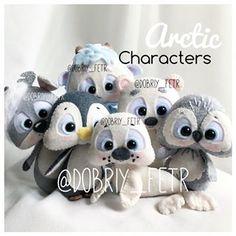 Felt Crafts Dolls, Felt Dolls, Felt Diy, Handmade Felt, Crochet Toys Patterns, Stuffed Toys Patterns, Diy Projects To Try, Craft Projects, Cute Eyes