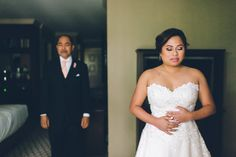 [Wedding] - Madison Hotel in Morristown, NJ - Ben Lau Wedding First Look, Wedding Day, Madison Hotel, Tears Of Joy, Hotel Wedding, Bridal Shoes, Nyc, Bride, Celebrities