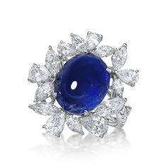 10.17ct Blue Sapphire Ring | Luxify | Luxury Within Reach