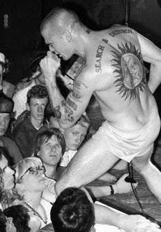 Henry Rollins - making straight punk dudes question their sexuality since 1981 (approx.)