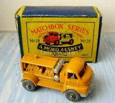 28-A Bedford Compressor Truck Matchbox Cars, Train Set, Youth, Trucks, Truck, Young Adults, Teenagers