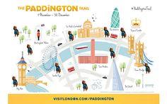 Paddington Bear tourist trail launched in London - Telegraph