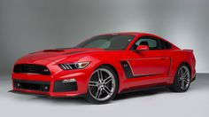 Check out this hot rod the 2015 Roush Stage 3 Mustang.  BASE PRICE: $62,615 AS TESTED PRICE: $70,554 DRIVETRAIN: 5.0-liter supercharged V8; RWD, six-speed manual OUTPUT: 670 hp, 545 lb-ft CURB WEIGHT: 3,892 lb   Read more: http://autoweek.com