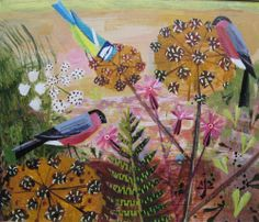 Hybrid in devon - Gallery Artists.  Beautiful use of color