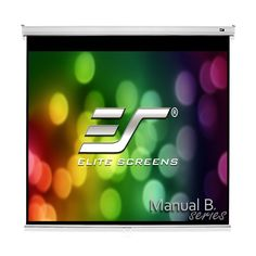 Elite Screens Manual B Manual Pull Down Projector Screen Diagonal Diag Ultra HDR HD Ready Home Theater Movie Theatre White Projection Screen with Slow Retract Mechanism Outdoor Theater, Home Theater Setup, Home Theater Projectors, Home Theater Speakers, Evening Movie, Pull Down Projector Screen, Layered Weave, Screen Material, Projection Screen