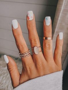 30+ Cool Star Nail Art Designs You Will Love -  #Nails
