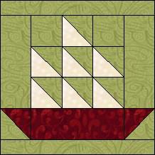 Quilt-Pro Systems - Quilt-Pro -FREE  Block of the Day Tall Sails