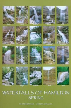 Hamilton Ontario Waterfalls