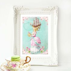 Marie Antoinette let them eat cake with a by MulberryslittleMuse