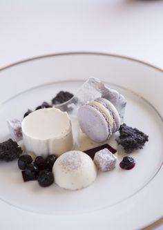 Blueberry Dessert Ellerman House Cuisine