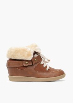 Patrol Sneakers - these look so warm and would be cute with jeans or a sweater dress and leather jacket. Crazy Shoes, Me Too Shoes, Funky Shoes, Winter Wear, Winter Boots, Fashion Shoes, Fashion Accessories, Wedge Shoes, Wedge Sneakers