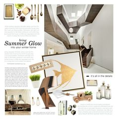 """Summer Glow"" by mirela-k ❤ liked on Polyvore featuring interior, interiors, interior design, home, home decor, interior decorating, Pigeon & Poodle, Kate Spade, Seletti and Dot & Bo"