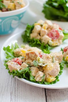 Hummus Turkey Lettuce Wraps - easy, healthy, and delicious recipe! Make a big batch and have lunches all week! Easy Lettuce Wraps, Turkey Lettuce Wraps, Turkey Salad, Healthy Salad Recipes, Lunch Recipes, Delicious Recipes, Healthy Foods, Make Ahead Appetizers, Appetizer Recipes