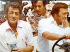 """Dean Martin golfing with Gambino family captain Gregory DePalma and Colombo family captain Richard """"Richie Nerves"""" Fusco."""