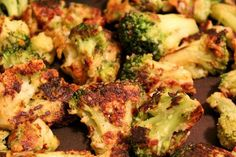 Parmesan Encrusted Broccoli. Pro tip on how to get the kids to eat broccoli: cover it in Parmesan. http://www.rewards4mom.com/top-10-broccoli-recipes-even-biggest-broccoli-skeptics-will-love/