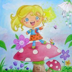 cuadros infantiles pintados bonitos
