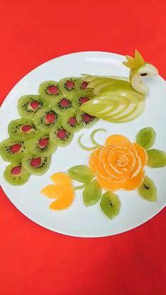 Fruit Platters Skills Part 1 Tasty Videos, Food Videos, Fancy Food Presentation, Plats Ramadan, Fruits Decoration, Amazing Food Art, Creative Food Art, Food Art For Kids, Food Carving
