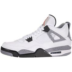 Nike Air Jordan 4 Ciment Blanc 2012 Dodge