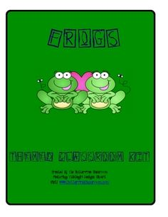 FROGS Themed Classroom Kit ~ Printables & More, This 20 page set includes multiple printables to enhance your frog themed classroom~