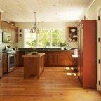 Vermont Farmhouse - Farmhouse - Kitchen - burlington - by Joan Heaton Architects