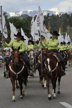 Dandies are the official ambassadors of the Cheyenne Frontier Days