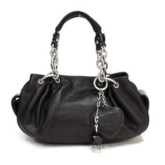 Juicy Couture black leather
