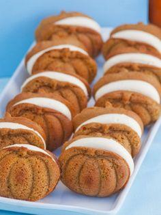 Cranberry Island Kitchen - Pumpkin Whoopie Pies  #pies #pumpkin  http://www.gilttaste.com/products/164708686-cranberry-island-kitchen-pumpkin-whoopie-pies