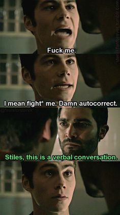 funny, lol, and teen wolf afbeelding