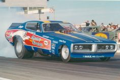 Gene Snow Dodge Charger Funny Car burnout
