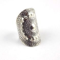 1 Pcs Fancy Design Style Ring 925 Sterling Silver Black Oxidize Adjustable Ring  #RaAgarw