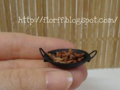 Flower & FF: Wok tutorial made from recycled pieces