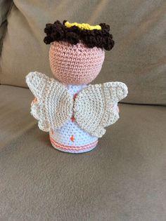 Crochet angel (Nativity set)