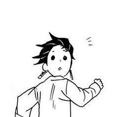 Anime Fr, Anime Demon, Demon Slayer, Slayer Anime, Pink Wallpaper Anime, Simple Anime, Funny Anime Pics, Manga Pages, Cute Icons