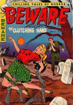 Beware #14 You will be slightly concerned about clutching hands grabbing you from graves