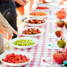 Host a tomato tasting in summer
