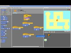 Building a pac man like game in scratch