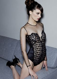 7e66c098d7b Belle de Nuit Guipure Baroque Body  The ultimate piece of lingerie to show  off inside