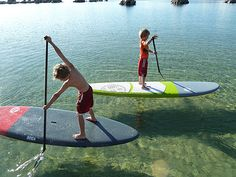 Stand Up Paddle Boarding - Great for kids too the first kids clinic at M SUP the 22nd of may!